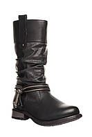 ✳️Чоботи Rieker 38 (23,5 см) (ботинки женские обувь демисезонная зимние теплые кожаные)