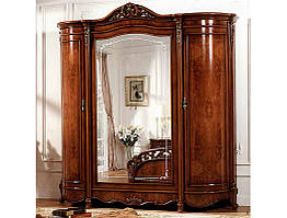 Шкаф 4-х дверный Аллегро СлонимМебель орех