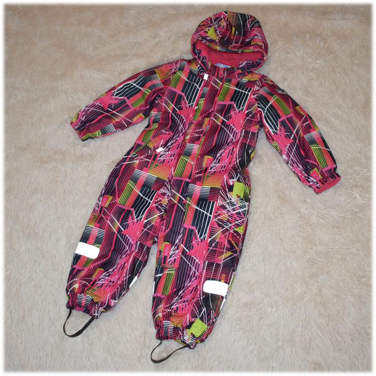Термо-комбинезон Garden Baby для девочки малиновый размеры 98