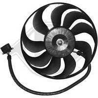 Вентилятор радиатора правый VW Golf, Bora, Polo 1J0959455M