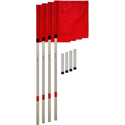 Флаги угловые SWIFT Corner Flag, с пластиковым стаканом (4 шт), фото 2