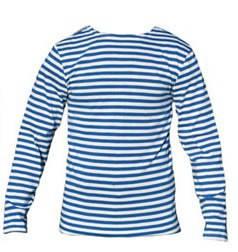 Тельняшка ВДВ летняя сине-белая, фото 2