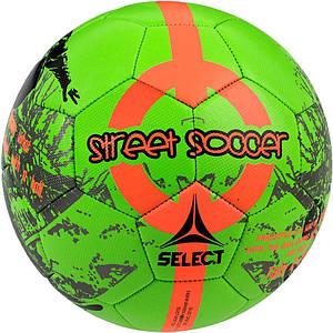 Мяч футбольный SELECT Street Soccer New (203) зеленый, размер 4,5
