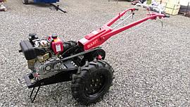 Мотоблок гибрид Булат WM 9 (дизель воздушного охлаждения 9 л.с., ручной стартер)