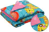 """Одеяло детское демисезонное шерстяное 105х140 см ТМ """"Руно"""""""