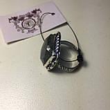 Кольцо лабрадорит спектролит в серебре. Кольцо с лабрадором размер 18,5 Индия!, фото 6