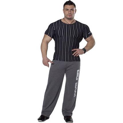 Мужская облегающая футболка BIG SAM 2706, фото 2