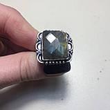 Кольцо лабрадорит спектролит в серебре. Кольцо с лабрадором размер 18,5 Индия!, фото 5