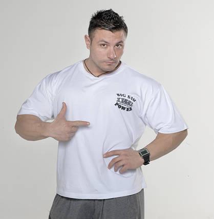 Мужская свободная футболка BIG SAM 2720, фото 2