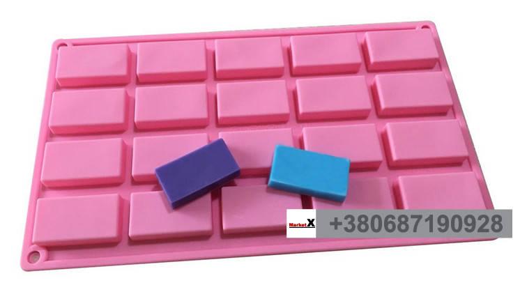 Харчова силіконова форма прямокутник, фото 2