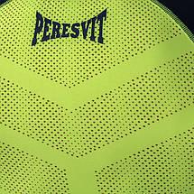 Компрессионная футболка Peresvit Air Motion Compression Short Sleeve T-Shirt Navy Flu Yellow, фото 3