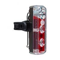 Фара пер./задн. Blackburn 2'Fer XL, USB 200люм/пер. 40люм/задн. 2реж. 78г, сір.