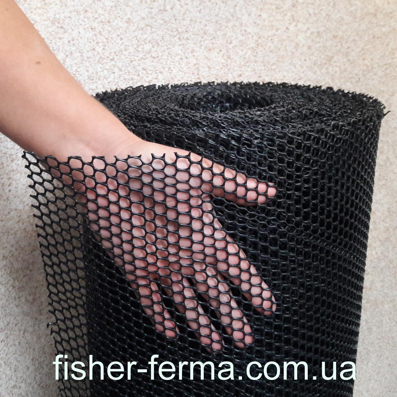 6х8х1,3мм - пластиковая сетка  (1х30 метров) - защита газонов от кротов