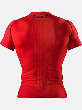 Компрессионная футболка Peresvit 3D Performance Rush Compression T-Shirt Red, фото 2