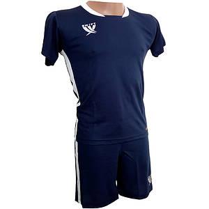 Комплект дитячої футбольної форми SWIFT PRIORITET Темно-Синьо-біла