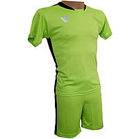Комплект детской футбольной формы SWIFT PRIORITET Салатово-черная 0a05bf49362