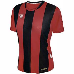 Футболка футбольна Swift PESCADO CoolTech (червоно/чорна)