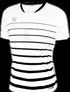 Футболка футбольна SWIFT FINT COOLTECH Біло-чорна