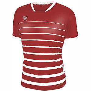 Футболка футбольна Swift FINT CoolTech (червоно/білий)