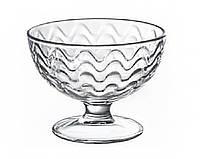 Креманка (мороженица) стеклянная 300 мл. «Мальва-Волна» 1 шт.