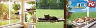 Оконная кровать для кота Sunny Seat window mounted cat bed, фото 1