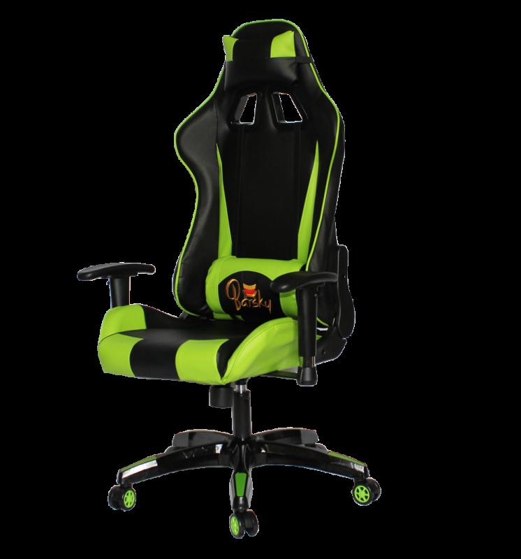 Кресло геймерское Barsky Sportdrive Game Green SD-10