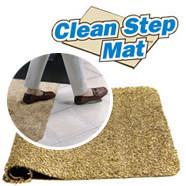 Коврик для вытирания ног Clean Step Mat
