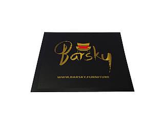 Коврик под кресло защитный red Barsky 1х1м KR-01