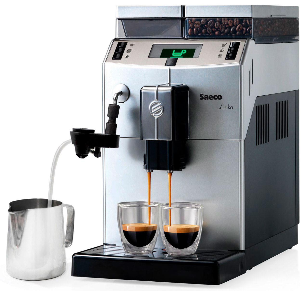 Кофемашина зерновая Saeco Lirika Plus Cappuccino RI9841