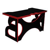 Компьютерный стол с полкой Barsky Homework Game Red HG-05
