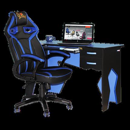 Рабочая станция (кресло и стол) Barsky Homework Blue HG-01/SD-06, фото 2