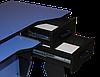 Рабочая станция (кресло и стол) Barsky Homework Blue HG-01/SD-06, фото 4