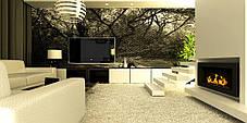 Биокамин Archikart 90x40 см, коричневый, полный комплект, фото 3