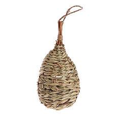 Гнездо - Домик для птиц,из специального плетеного волокна, кормушка для диких птиц, фото 3