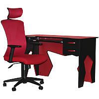 Комплект кресло и стол Barsky Homework Red HG-02/BM-01