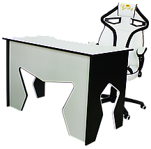 Набор кресло и стол Barsky Homework White HG-03/SD-07, фото 2