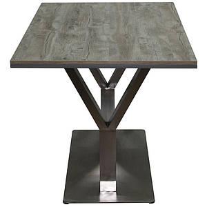 Дизайнерский стол Barsky Mass Shine дуб Клондайк 1200*800 BMS-02