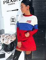 Платье акриловое люксовая реплика Balenciaga (2 цвета)