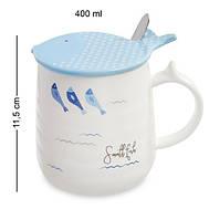 Чашка Ловись, рыбка MUG-102/4. Морской сувенир