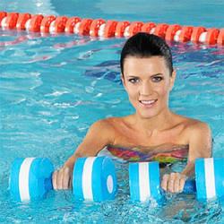 Товари для аквааеробіки і басейну