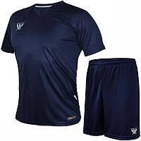 Комплект футбольной формы SWIFT VITTORIA COOLTECH Темно-синяя