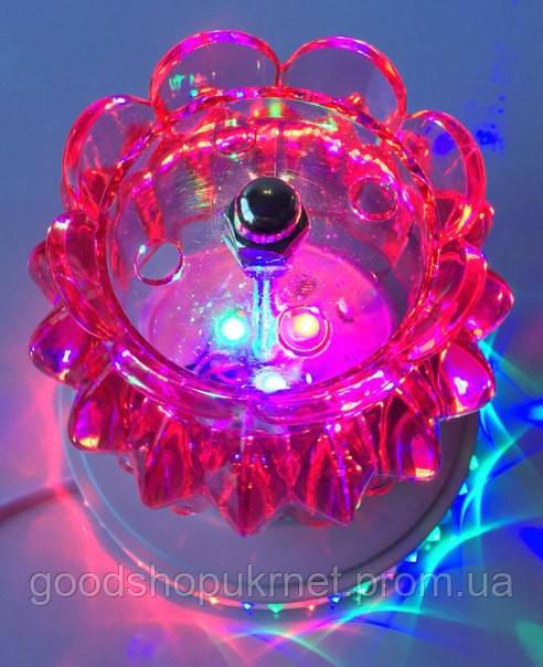 Цветомузыка со светодиодным кольцом