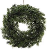 Новогодний декоративный венок Хвойный d 40 см искусственная хвоя (psg_BD-122-F54)