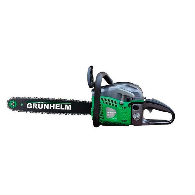 Бензопила Grunhelm GS62-18/2 (2 шини+ 2 кола)