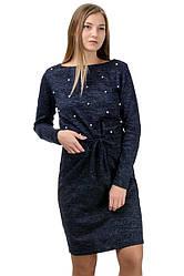 """Молодіжне повсякденне плаття """"Jessica"""",темно-синій, розміри М-XXL"""