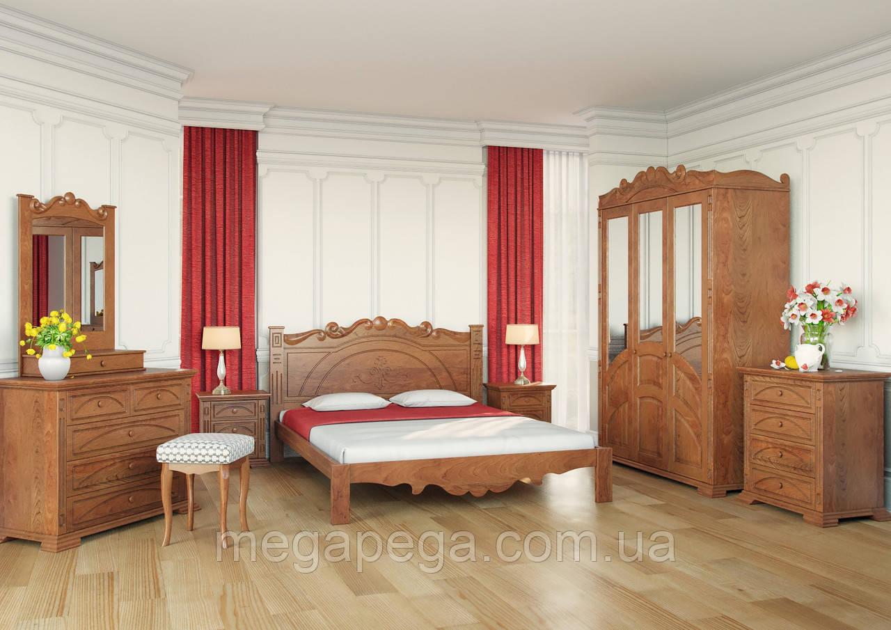 Спальня Атена деревянная