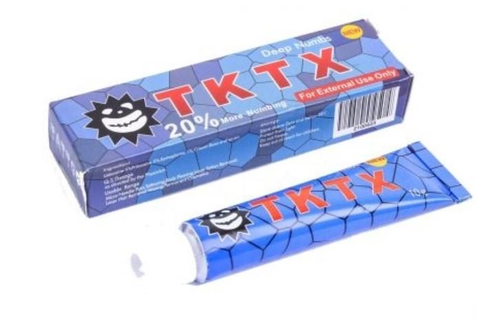 Крем анестетик TKTX20%(синій)