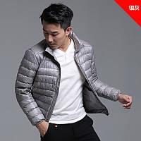 Куртка, тонкий пуховик (силикон)  весна-осень,  большой размер и стандартный  ХС-12ХЛ