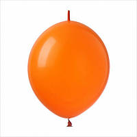 "Шар линколун Link 12"" Оранжевый (orange) 1 шт."