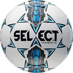 Мяч футбольный SELECT Numero 10 IMS (305), бел/сер/голуб